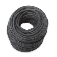"Rubber Rope, 7/16"" dia, 150' coils"